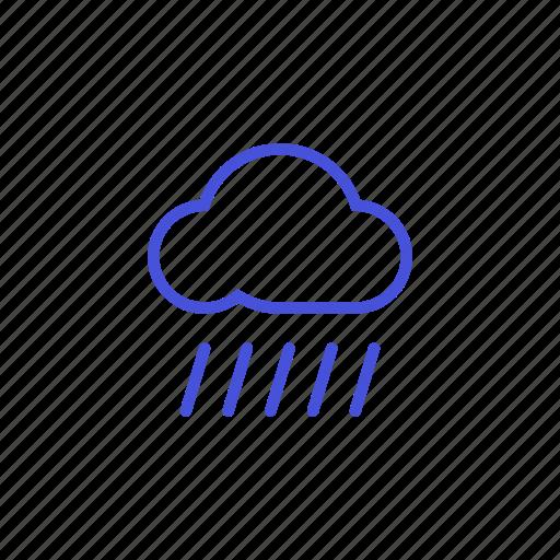cloud, platform, rain, share, storage, weather icon