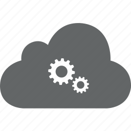 admin, cloud, configuration, gears, setting, sync icon