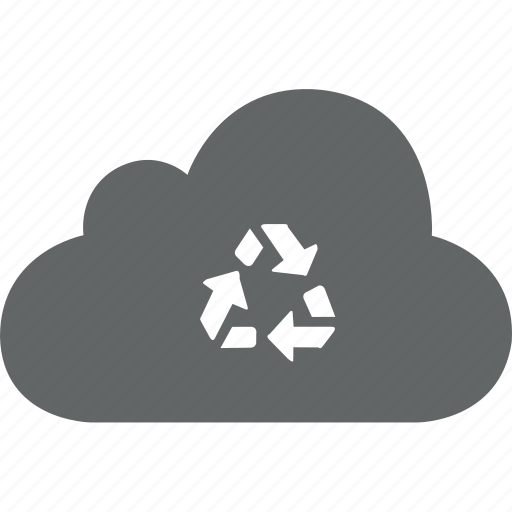 Cloud, dust, recover, recycle, delete, dustbin icon - Download on Iconfinder