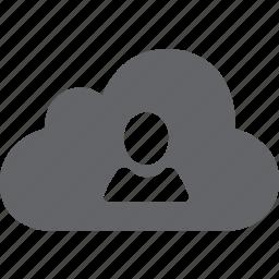 admin, avatar, cloud, male, man, profile, user icon