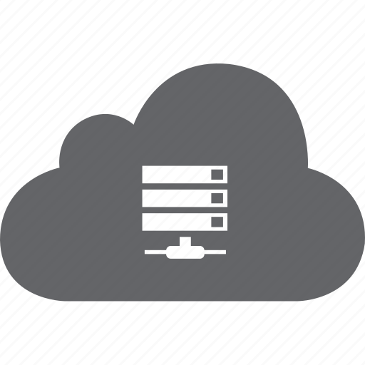 base, cloud, data, hosting, server, sharing, storage icon