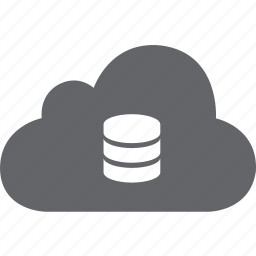 base, cloud, data, hosting, network, server, storage icon