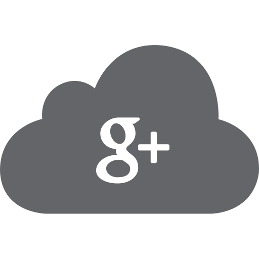 cloud, g, google, plus, social icon
