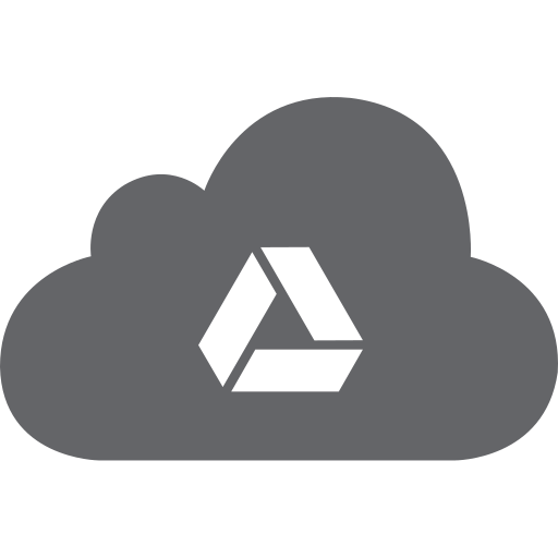 cloud, drive, google, share, sharing icon