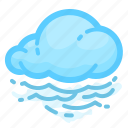 cloud, cloudy, fog, foggy, forecast, weather icon