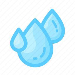 drops, forecast, humidity, rain, water, weather icon