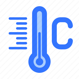 celsius, forecast, scale, tempeature, thermometer, weather icon