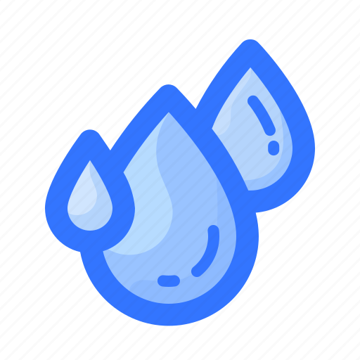 drops, forecast, humidity, rain, water, weather icon