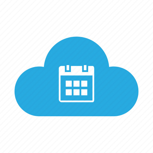 calendar, cloud, date, day, event, schedule, timetable icon