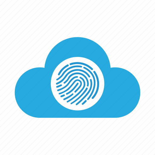 finger print, id, identity, lock, private, secure, touch icon