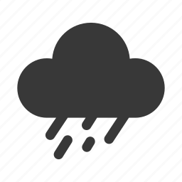 cloud, cloudy, forecast, rain, rainy, storm, weather icon