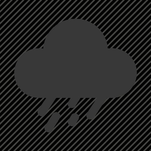 cloud, cloudy, forecast, rain, rainy, storm, weather icon | icon