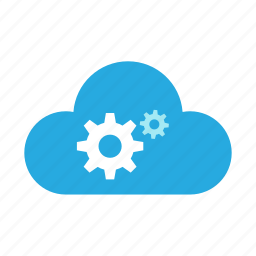 cloud, config, configuration, gear, options, preferences, setting icon
