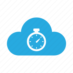 cloud, history, hour, limited, stopwatch, timer, wait icon