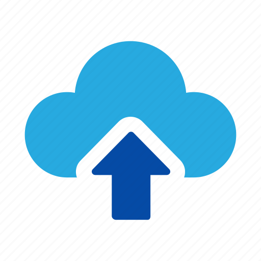 cloud, drive, sky, up, upload icon