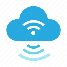 cloud, connection, internet, mobile, network, signal, wifi icon
