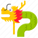 chinese, chinese new year, culture, dragon, festival icon