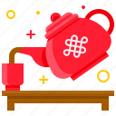 chinese, chinese new year, culture, festival, tea, teapot icon