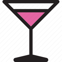 alcohol, cocktail, cosmopolitan, drink, glass icon