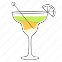 alcohol, beverage, cocktail, drink, margarita icon