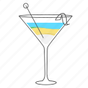 alcohol, beverage, blue, cocktail, drink, lagoon icon