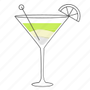 alcohol, beverage, cocktail, daiquiri, drink icon