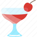 berry, cherry, coctails, drink icon