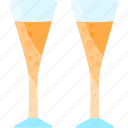 alcohol, coctails, drink, glasses icon