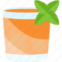 coctails, drink, mint, sheet icon