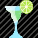 alcohol, coctails, drink, lime