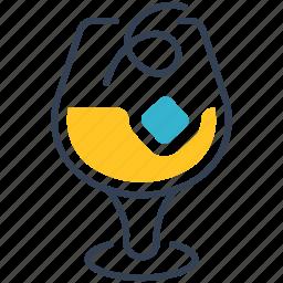 boulevardier, cocktail icon