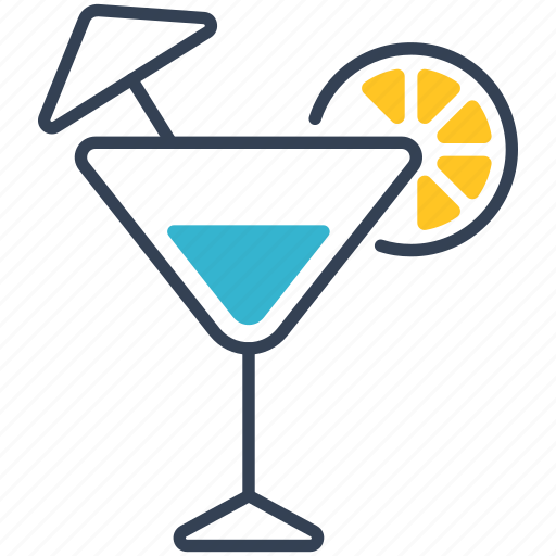 cocktail, ghost, green icon