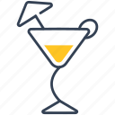 cocktail, drink, martini icon