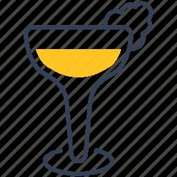 cocktail, negroni, white icon