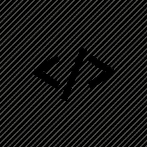 code, programming, web icon
