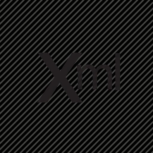 code, programming, web, xml icon