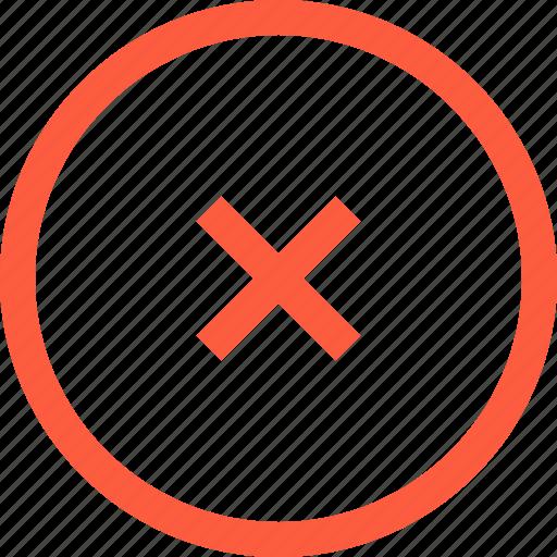 crash, error, fail, problem, round, shape icon