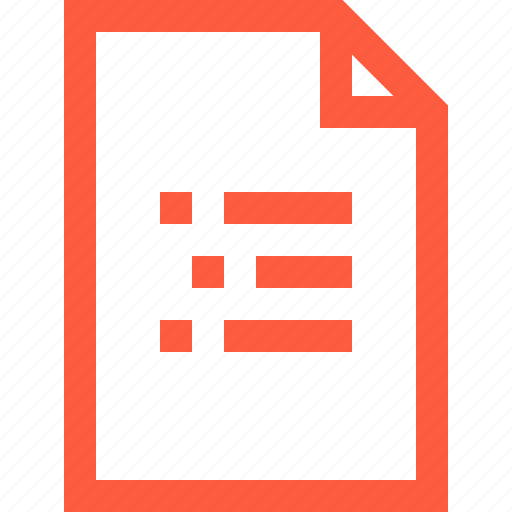 doc, document, file, letter, notification, page icon
