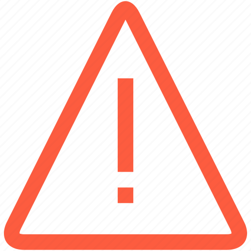 alert, attention, notification, pointer, sign, triangle, warning icon