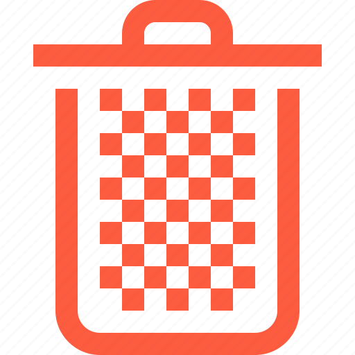basket, deleted, files, full, removed, trash icon