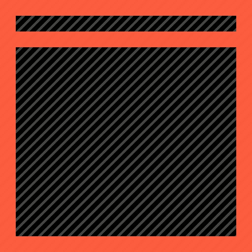 blank, browser, empty, page, program, web, window icon