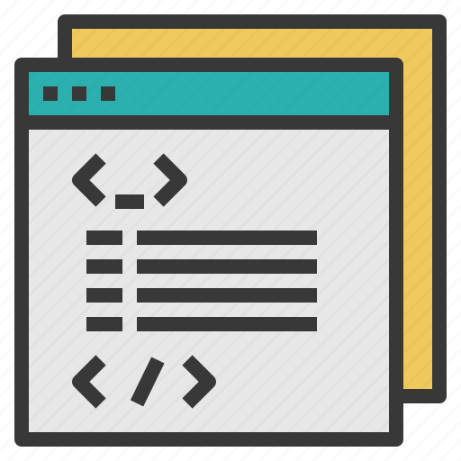 code, coding, computer, internet, language, website icon