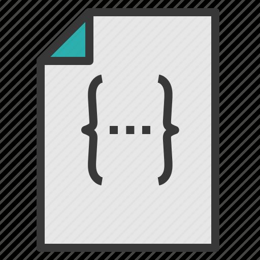 code, data, document, file, paper icon