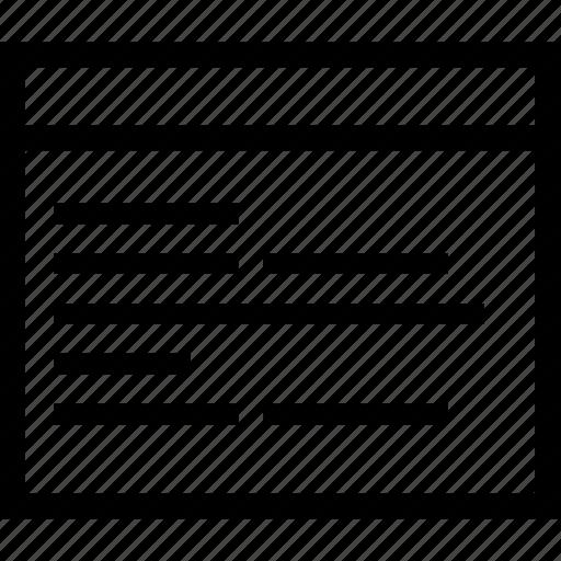 code, coding, document, text icon