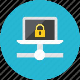 lock, network icon