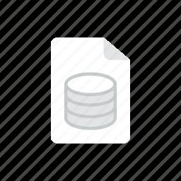 data, file icon