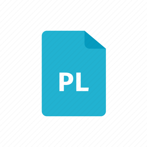file, pl icon