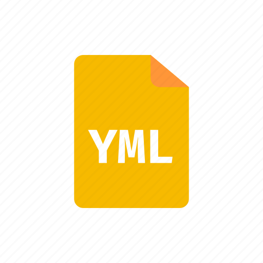 file, yml icon