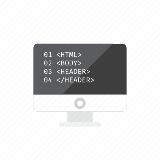coding, html icon