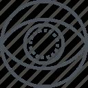 eye, lens icon